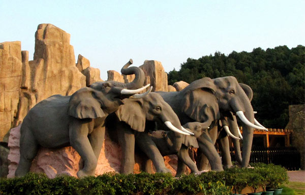 长沙生态动物园一日游