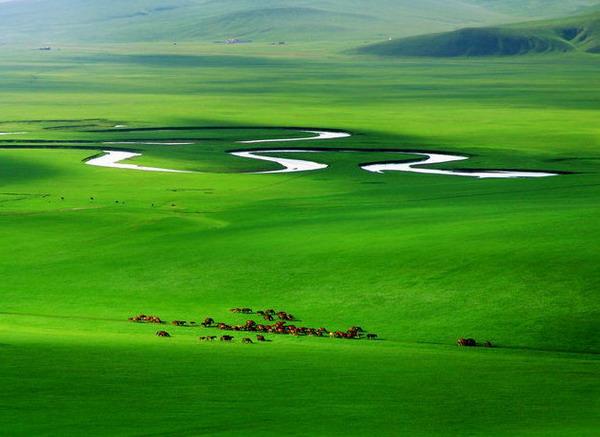 从长沙到内蒙古呼伦贝尔草原-满洲里-室韦-根河湿地-海拉尔双飞