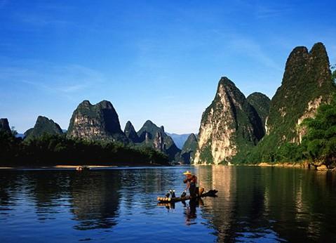 桂林漓江竹筏漂流自助游攻略