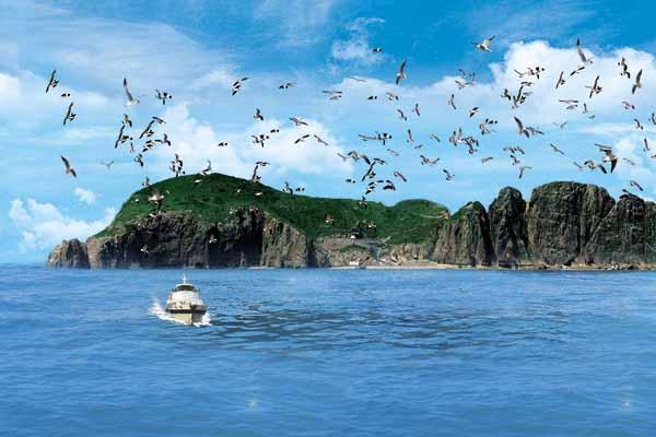 【纯玩/海景/亲子/度假】长沙到青岛-爸爸去哪儿威海鸡鸣岛-大连双飞六日游