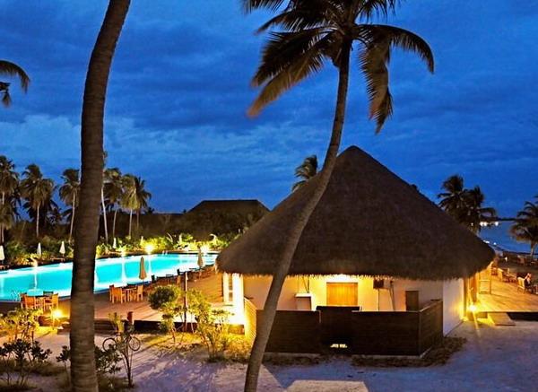 长沙到马尔代夫幸福岛(4晚日落沙滩别墅)自由行直航六日游蜜月