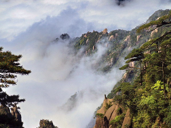 长沙到江西三清山、龟峰4日游特价旅游