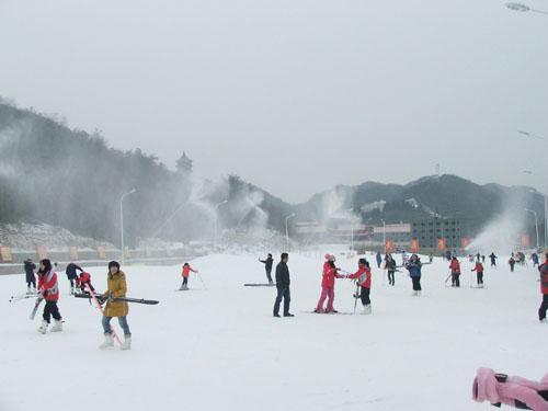 大围山滑雪场激情滑雪之旅 带你玩转60天超长寒假
