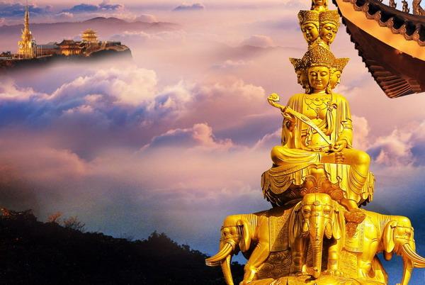 【峨乐银钻】长沙到峨眉山、乐山、九寨沟、黄龙、成都双飞