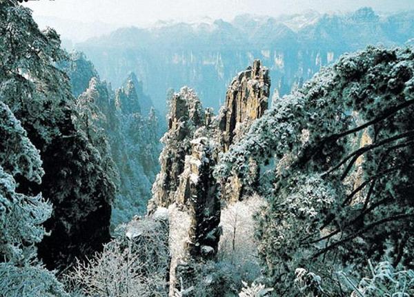 张家界一般什么时候下雪?到张家界旅游什么时候能看雪景