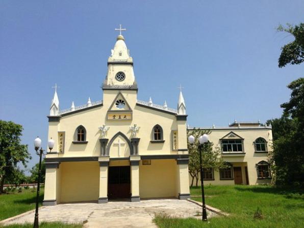 涠洲岛天主教堂