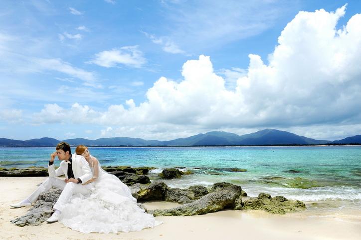 三亚大小洞天、蜈支洲岛婚纱摄影攻略