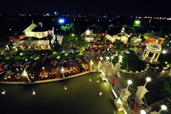曼谷巧克力小镇