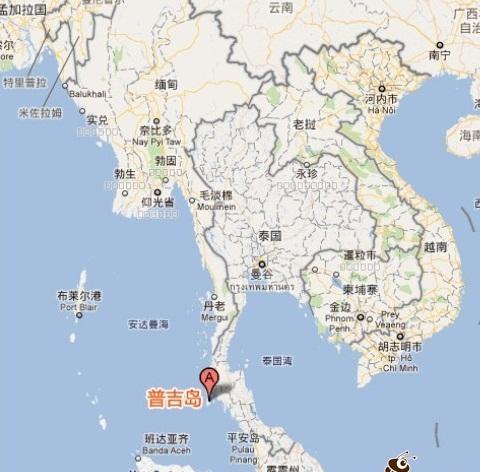 普吉岛在哪个国家,普吉岛在哪里