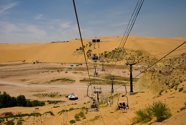从长沙出发到内蒙古草原、沙库布其沙漠、伊利