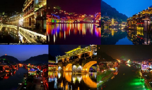 长沙到凤凰古城、苗人谷苗寨、篝火晚会三日游纯玩无自费品质旅游