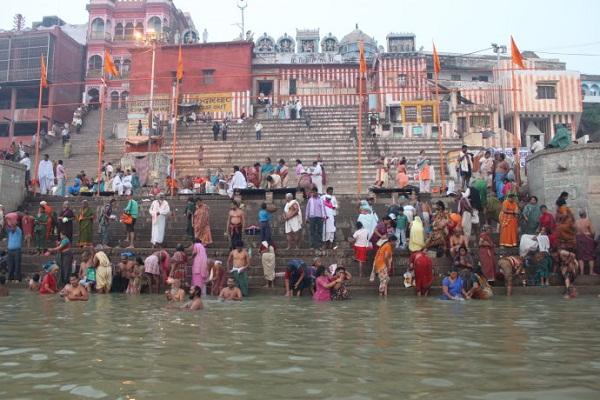 印度恒河沐浴场
