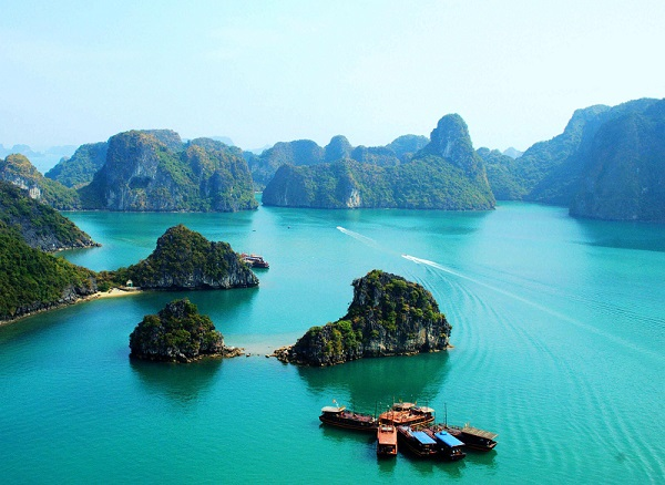 长沙到越南、情迷下龙湾、南宁双飞超值六日游旅游团(全程0自费!送价值8