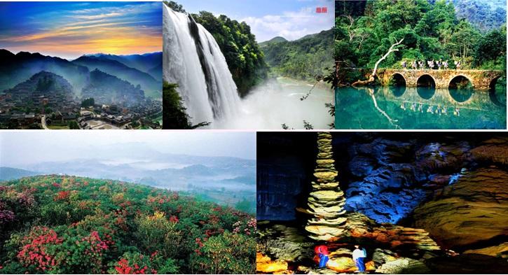[赏花之旅]长沙到贵州黄果树瀑布、荔波小七孔、