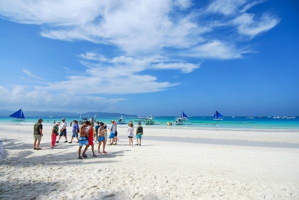 长滩岛Boracay白沙滩