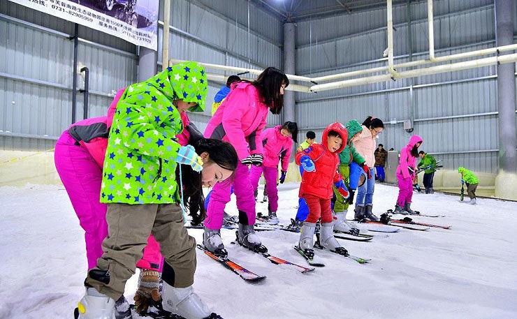 长沙三只熊滑雪场门票团购,长沙三只熊冰雪王国门票团购(88元