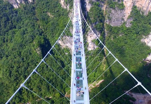 张家界大峡谷、张家界大峡谷玻璃桥一日游纯玩