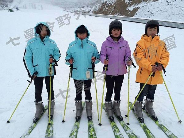 铜鼓七星岭野外滑雪场