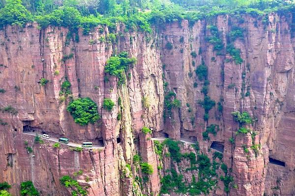 长沙到河南万仙山、郭亮村、八里沟、天界山回龙大峡谷双卧火车四日游旅游团