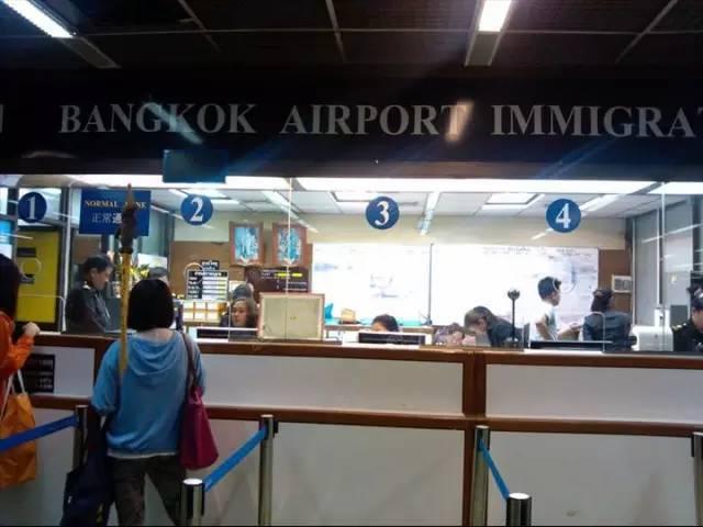 泰国落地签窗口