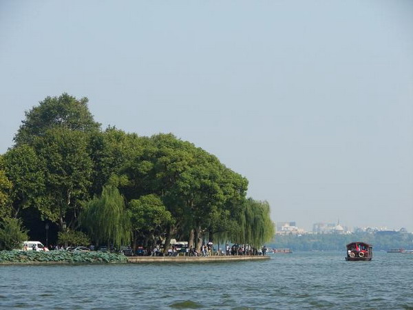 杭州西湖著名自然旅游景